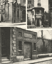 LONDON. Body snatchers. Watch houses. Thames Giltspur Street, Rotherhithe 1926